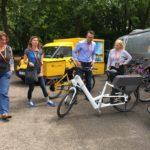 eBike der Deutschen Post beim NachhaltigkeitsCamp Bonn