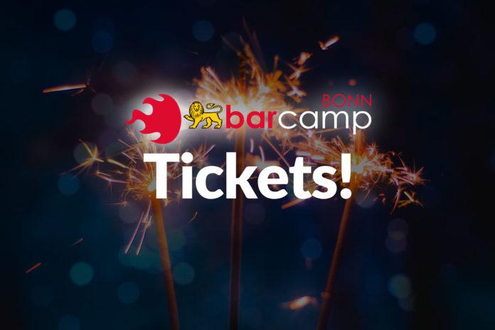 Das Logo von BarCamp Bonn und darunter das Wort